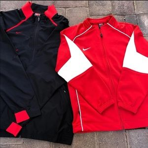 Vintage Nike His & Her Track Jackets